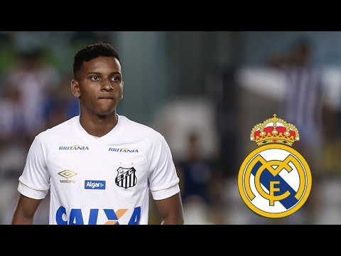 Rodrygo ● Welcome to Real Madrid | Santos FC 2017/18
