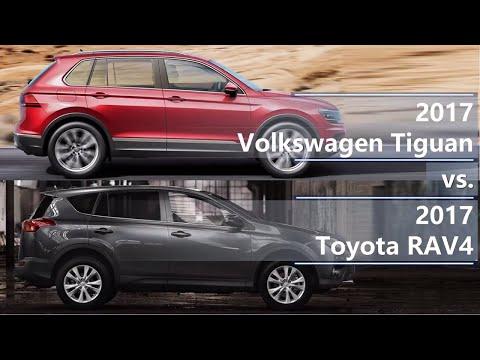 2017 Volkswagen Tiguan vs 2017 Toyota RAV4 (technical comparison)