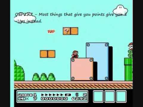 <b>Super Mario Bros</b>. 3 - <b>Game Genie Codes</b> - YouTube