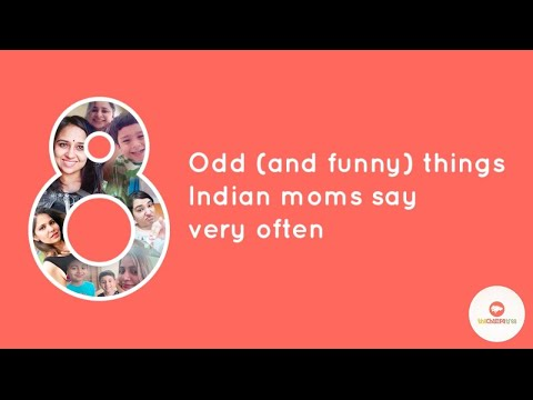 8 Hilarious Things Indian Moms Say | Indian Mom Funny Video