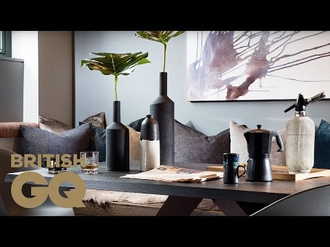 How to Style Your Dining Room with Daniel Hopwood | GQ Bachelor Pad | British GQ