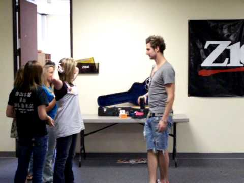 John Vesely And Candice Vesely Secondhand Serenade's ...