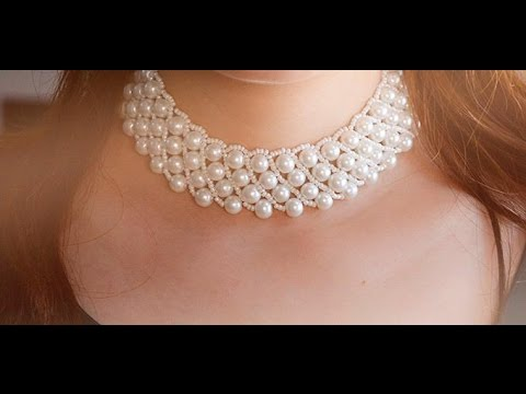 Pearl Jewelry Design How To Make A Handmade White Pearl