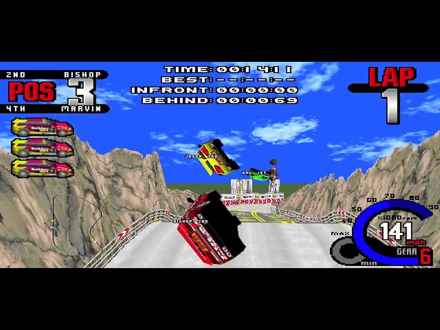 Whiplash / Fatal Racing (WIN 95 DOS) Review