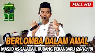 Video Ceramah Terbaru Ustadz Abdul Somad Lc, MA - Masjid As Sajadah, Kubang Raya download MP3, 3GP, MP4, WEBM, AVI, FLV November 2018