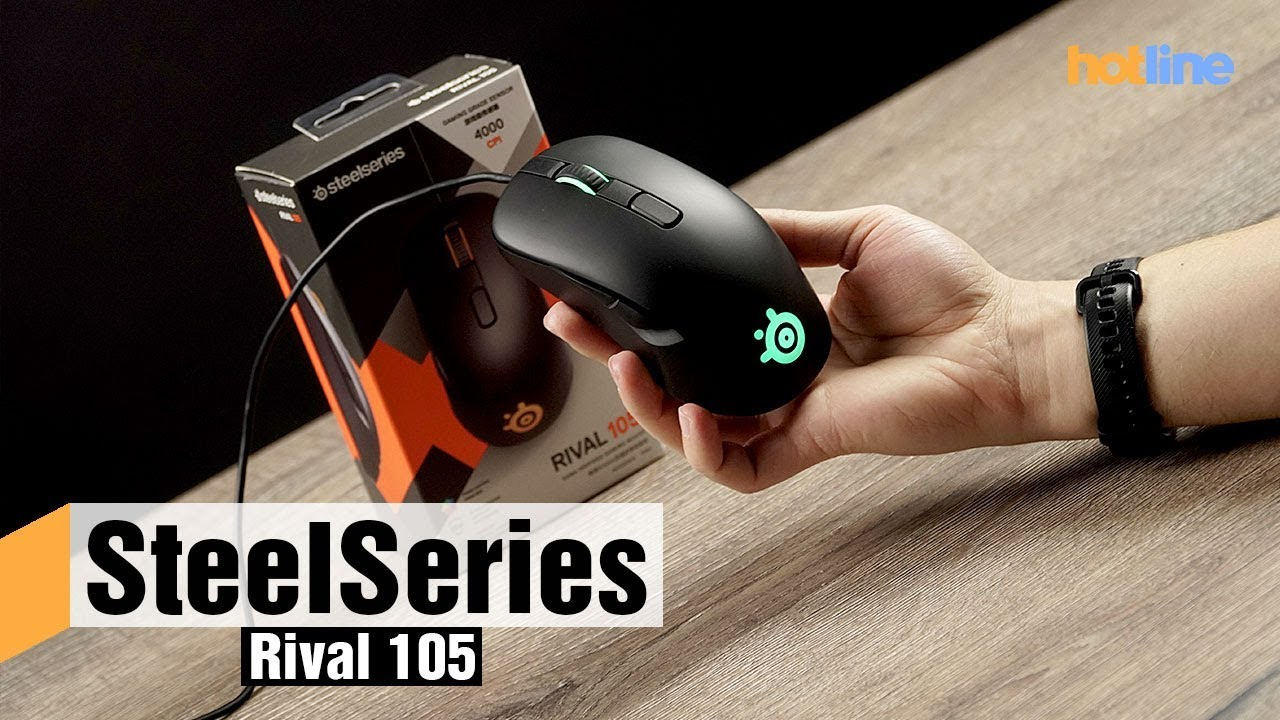 SteelSeries Rival 105 — обзор игровой мыши