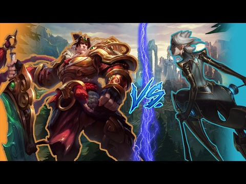 A second look? - Garen VS Camille - League of Legends Live Commentary