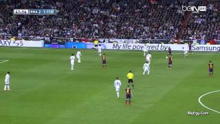 اهداف مباراة برشلونة وريال مدريد 4-3 تعليق حفيظ الدراجي 2013/2014