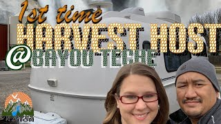 Our First Harvest Hosts | Bayou Teche Brewing