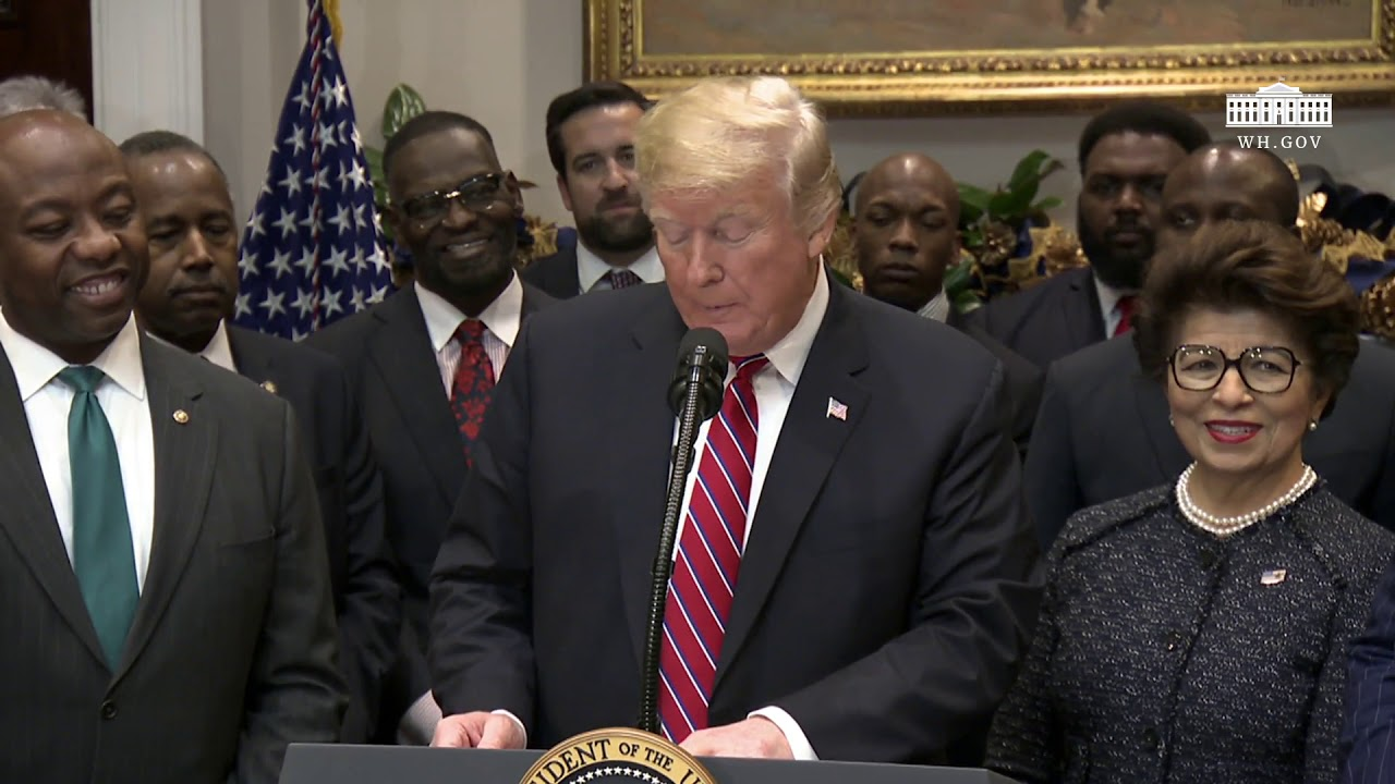 President Trump Participates in a Signing Event for an Executive Order