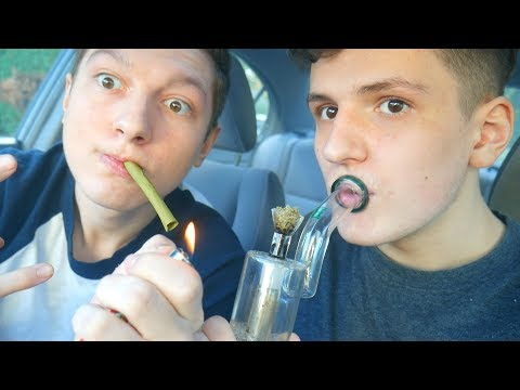 SMOKING LEGAL WEED!? (HOTBOX SESSION)