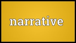 Narrative Meaning
