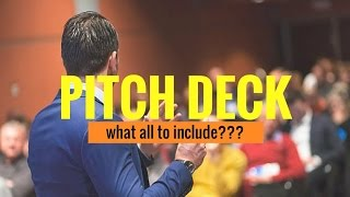 Gambar cover 10 Slides To Include In Pitch Deck - Curated by CrispTalks