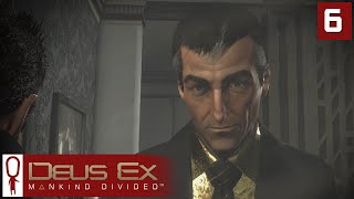 Deus Ex Mankind Divided Gameplay Part 6 - Edward Brod and Sarif - Lets Play [Stealth Pacifist PC]