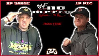 "WWF NO MERCY (N64): Mike ""Sarge"" Riley vs Danny Picard - PIC-up YA STICKS"