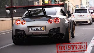 1850HP Nissan GTR FROM HELL!!..Busted by the Police!