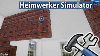 HEIMWERKER SIMULATOR 🛠 Teurer Bungalow Expressumbau ► #10 House Flipper Beta deutsch german