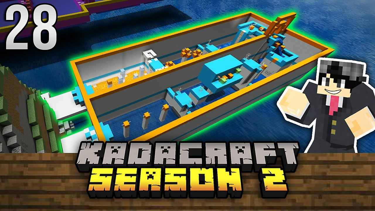 KadaCraft 2 #28 : PARKOUR BUILD