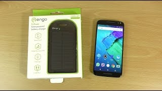 Mengo S-Power 5300Mah Solar Charger Power Bank - Review!