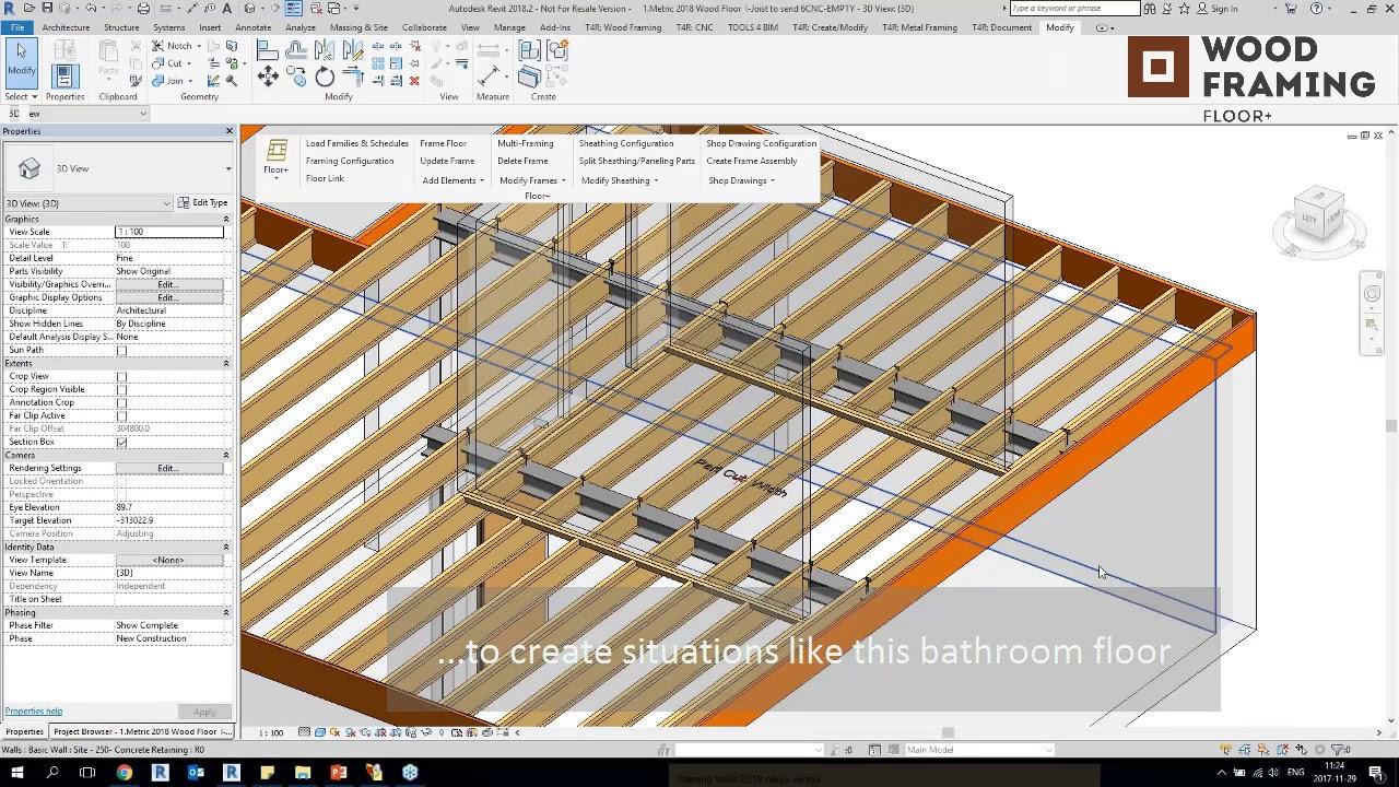 agacad sneakpeek framing complex floors - Metal Framing Tools
