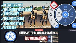 Gambar cover KINEMASTER Diamond Pro Mod | Free Download
