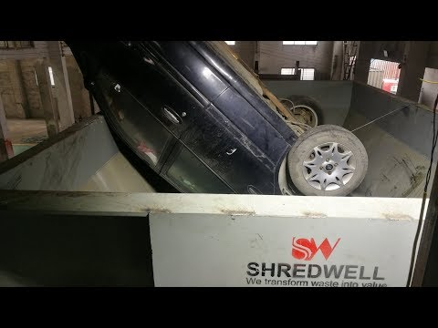 How do you process your scrap car ? waste car is not a waste...Shred it and bring you more money