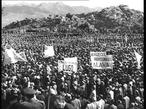 Resultado de imagen de inauguracion valle de los caido