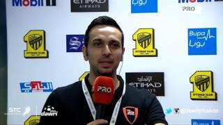 #دوري_بلس - أحمد عسيري بعد مباراة #الاتحاد و #الخليج : ردي دائما داخل الملعب!