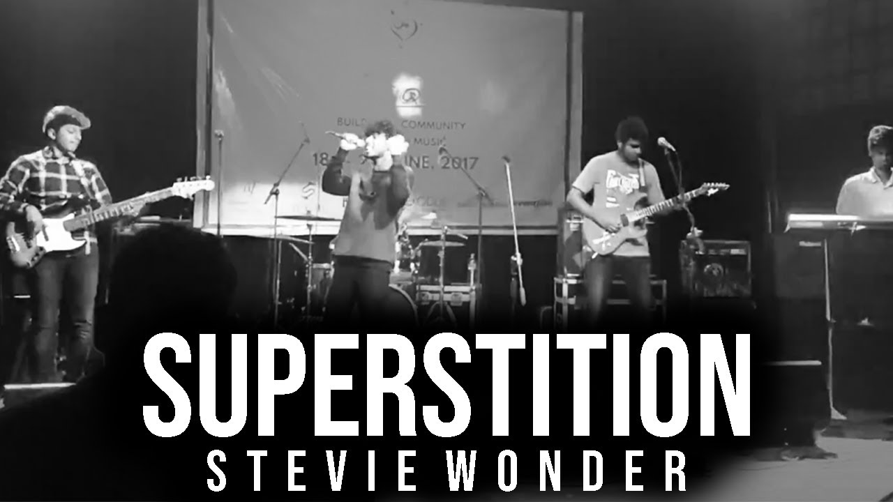 Stevie Wonder - Superstition (Live cover, Cell phone camera) By Loot77