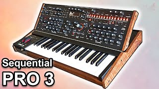 SEQUENTIAL PRO 3 - Sounds, Patches and Presets | Synth Demo