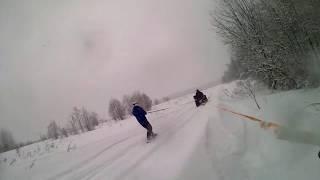 Снегоболотоход РМ 650 II с правильным тюнингом!! Обзор и испытания