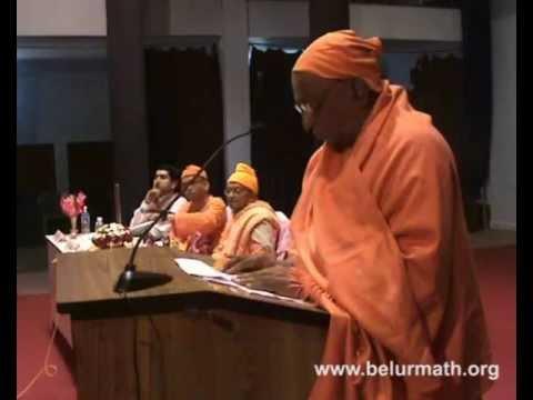 Speech by Swami Divyananda