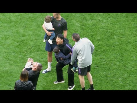 Nobody Loves Sports Babies More Than Son Heung-Min