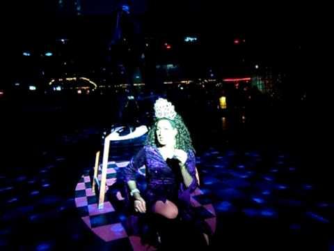 Kristi Waters Performing Defying Gravity