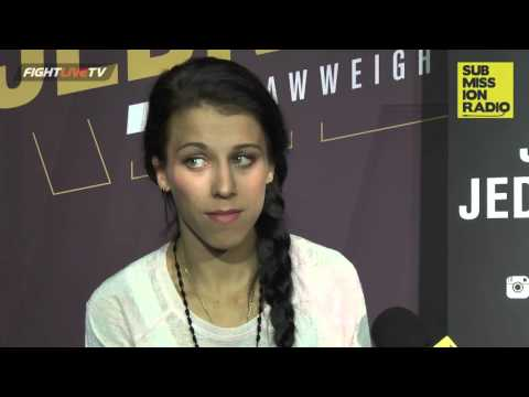 UFC 193: Joanna Jedrzejczyk on Rousey calling her the future of WMMA