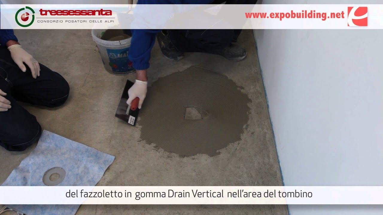 Impermeabilizzazione del piatto doccia youtube - Posare un piatto doccia ...