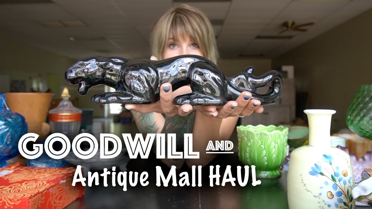 GOODWILL and Antique Mall HAUL | What Can I SELL it for on Ebay? | Reselling