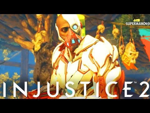 MY RANDOM CHARACTER NIGHTMARE CYBORG... - Injustice 2 Random Character Select