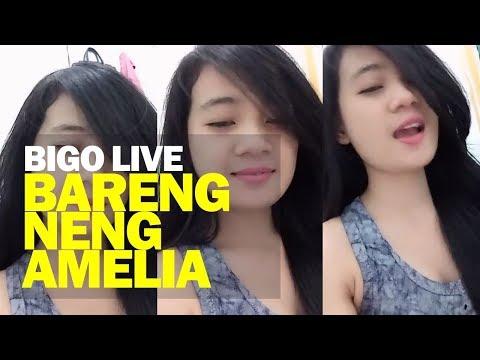 Bigo Live bareng Neng Amelia