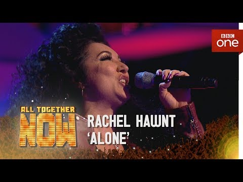 Rachael Hawnt peforms 'Alone' by Heart in the sing off  - All Together Now: Episode 4 - BBC One
