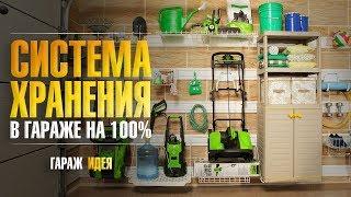 видео Обустройство гаража: системы хранения, мебель, дизайн