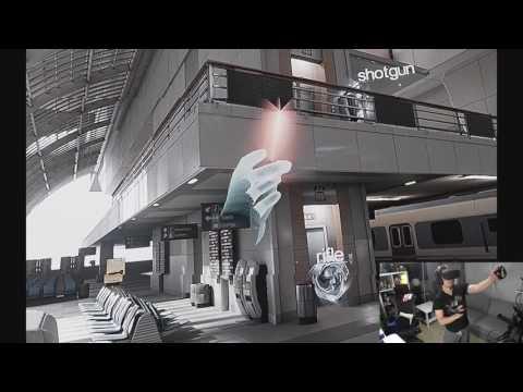 [Oculus Rift VR] ロボットと戦ってみた