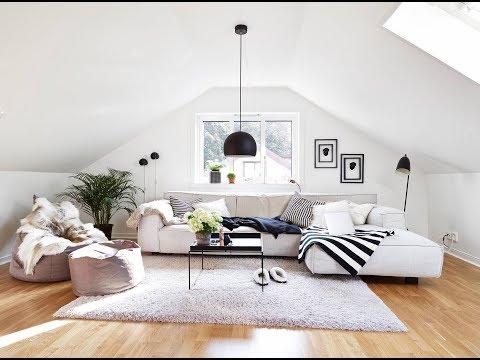 10 Attic Living Room Design Ideas