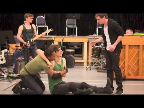 The Last Goodbye - In Rehearsal