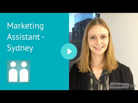 Marketing Assistant - Sydney