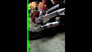 Knalpot racing 3v3 kolong slencer
