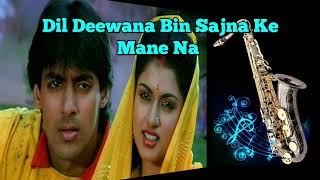 #341:- Dil Deewana Bin Sajna Ke Mane Na | Maine Pyar Kiya | Lata | Saxophone Cover by Suhel Ji