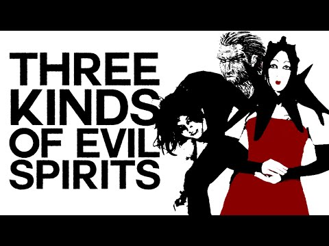 Three Kinds of Evil Spirits - Swedenborg and Life
