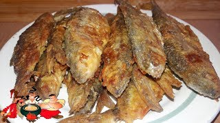 Как вкусно пожарить плотву. Рецепт от Мишани.    Fish fried