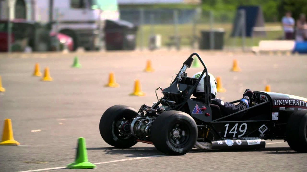 Formula Student 2015 Dynamic Events Highlights - YouTube